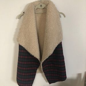 Plaid Vest with Sherla-took tag off